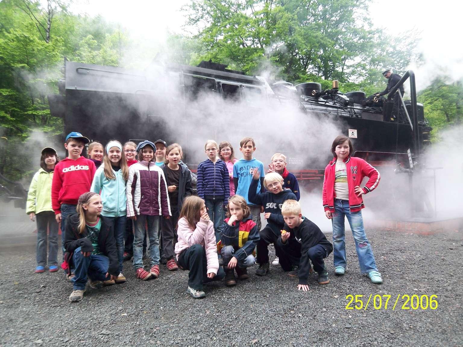 Unsere Dampflok